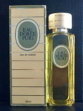 EAU DOREE PUIG EDT de Antonio Puig 200ml. VINTAGE