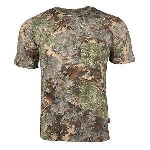 King's Camo Classic Cotton Short Sleeve Shirt Desert Shadow Medium