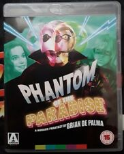 Phantom of the Paradise Bluray Arrow Video Brian De Palma Mint Condition PAL