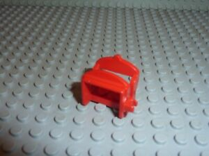 Selle cheval LEGO Red horse saddle 4491a Set 6061/6085/6066/6074/6080/6071/6042