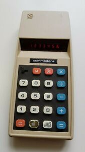 1977 vintage Commodore  776M  Calculator  Rare