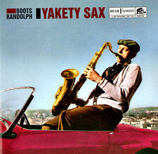 BOOTS RANDOLPH - YAKETY SAX - Original CD © Bear Family Incl 12-page Booklet