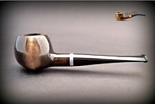 HAND MADE WOODEN TOBACCO SMOKING PIPE  no 33  Black  PEAR + Filter