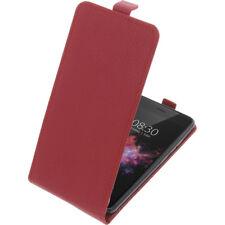 Custodia Per Tp-Link Neffos X1 Max Custodia Cellulare Modello Flip Rosso