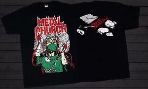 METAL CHURCH -Fake Healer- American metal band,T_shirt-SIZES:S to 6XL