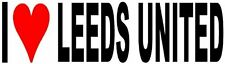 I Love Leeds United Vinyl Decal Sticker