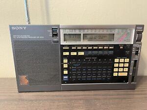 Sony ICF-2010 Short wave synthesized radio receiver (Air/FM/AM/LW/MW/SW)