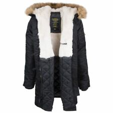 Alpha Industries Women's Elyse Extreme Cold Weather Parka Black L