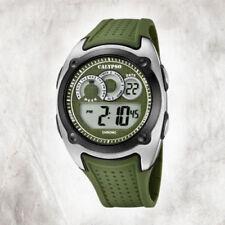 Relojes de pulsera de alarma de plástico acero inoxidable