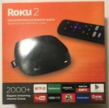 Roku 2 4210R Streamer Player 1080p HD Video Media Device WIFI W/ Remote & Power!