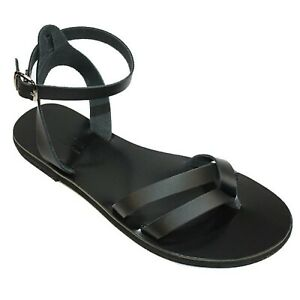 Leather Greek Sandals | Summer Boho Look | Casual Chic | Gladiator