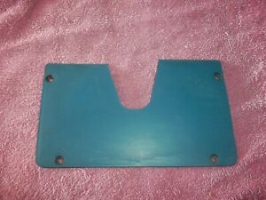 LOWER DASH STEERING COLUMN COVER BLUE 1974-78 DODGE PLYMOUTH CHRYSLER 77CY2-A7