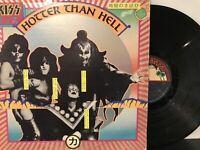 Kiss – Hotter Than Hell LP 1974 Casablanca – NBLP 7006 VG/VG - Blue Label