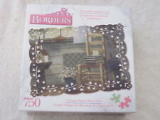 LAVENDER AND LACE  by Michael Humphries - RoseArt BORDERS 750 piece puzzle - NEW