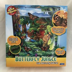 Butterfly Jungle Live Habitat Uncle Milton New