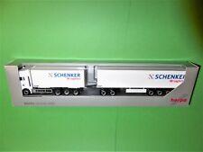 """HERPA """"Schenker DB Logistics 76789 5167"""" MAN Gigaliner (4) 1/87 TOP&OVP"""