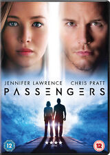 Passengers DVD 2017 Jennifer Lawrence Chris Pratt