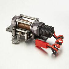 RC Scale 1/10 SCX10 ELECTRIC WINCH Aluminum Alloy For RC Rock Crawler #1891