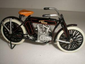 Harley Davidson  vintage 1909 1/24 Franklin Mint Motorbike 1:24 RARE Model !