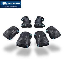 TOPFIRE Child's / Youth Pad Set BMX Bike Protective Gear, Knee Elbow and Wrist