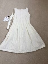 MarcCain Ladies Cream Party Dress N2 Uk 10 Bnwt