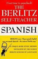 Berlitz Self-Teacher: Spanish (Berlitz Self-Teachers)