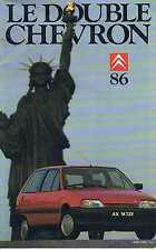 Le Double Chevron   N°86   Automne 1986 :
