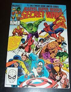 VFNM 9.0 Marvel Super Hero SECRET WARS 1, Beyonder Appearance, NEW Stock, Bag&B
