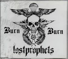 LOSTPROPHETS - BURN BURN - 3 TRACK  CD SINGLE - MINT