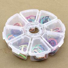 1Pcs Storage Box Case Organizer Display Jewelry Bead Makeup Clear Round CC