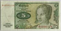 ALLEMAGNE - 5 MARK (1970) - Billet de banque (TTB)