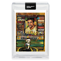 Topps PROJECT 2020 Card 138 1955 Roberto Clemente Andrew Thiele -Print Run 6,507