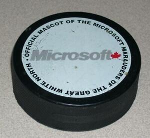 Microsoft Canada Hockey Puck Promotional Item - Marauders