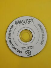 Nintendo gamecube gameboy player start up disc NEEDS RESURFACING AS-IS