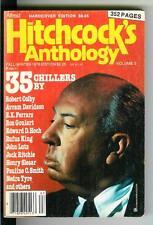 HITCHCOCK'S ANTHOLOGY Vol 3, rare US crime noir digest mag, 35 stories, Goulart