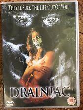Georgia Hatzis, Alexandra Boylan DRAINIAC ~ 2000 Horror Film   UK DVD