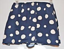 Zara Trafaluc Collection Women's Polka Dot Skort Navy/Ivory Size XS. FREE SHIP.