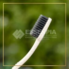 Hotel Disposable Eco Friendly Toothbrush Charcoal Travel Toothbrush Hotel Resort