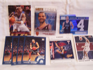 CARLOS BOOZER 17 CARD LOT 14 ROOKIES  & 3 2ND YEAR CLEVELAND CAVALIERS MINT