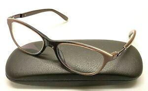 OAKLEY DOWNSHIFT OX1073-0252 Mauve Vapor Brown Plastic Cat Eye Eyeglasses Frames
