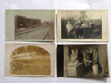 4 WW1 GERMAN POST CARDS