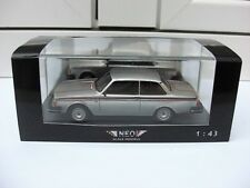 Volvo 242 GT 1978 silver NEO 43820 MIB 1:43 saab 144 740 244 BEAUTIFUL VERY RARE