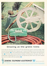 1962 General Telephone and Electronics - Vintage Advertisement Print Ad J469