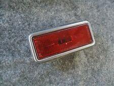 Fiat Spider Side Marker 1979-1982 Fiat 124 2000 Rear Red Side Marker OEM