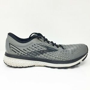 Brooks Mens Ghost 13 1103481D040 Gray Running Shoes Lace Up Low Top Size 11 D