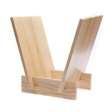 Analogue Studio VEE Wood Vinyl Record Storage Rack - LP Record Holder - Honey