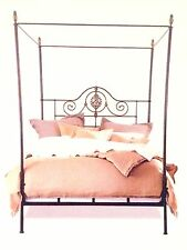 Alexandria Queen Canopy Bed / Daybed by Charles P. Rogers Brass