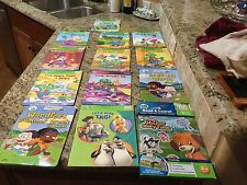 Lot Of 10 Books, Plus Sticker Story time And 2 Leap Pad Writing Books
