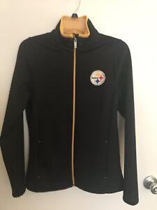 Antigua Womens Steelers Jacket Small