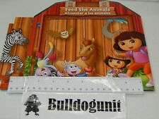 2013 Dora's Carnival Fiesta Board Game Replacement Fold Up Stable Part Only